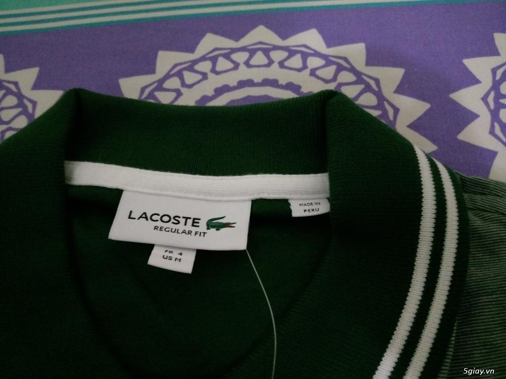 Áo Lacoste Original MỚI 100% Full tem tag lên sàn - 8