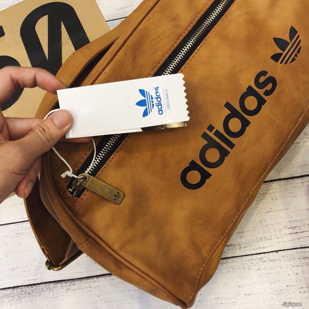 Túi adidas chất da chuẩn xuất khẩu - 16