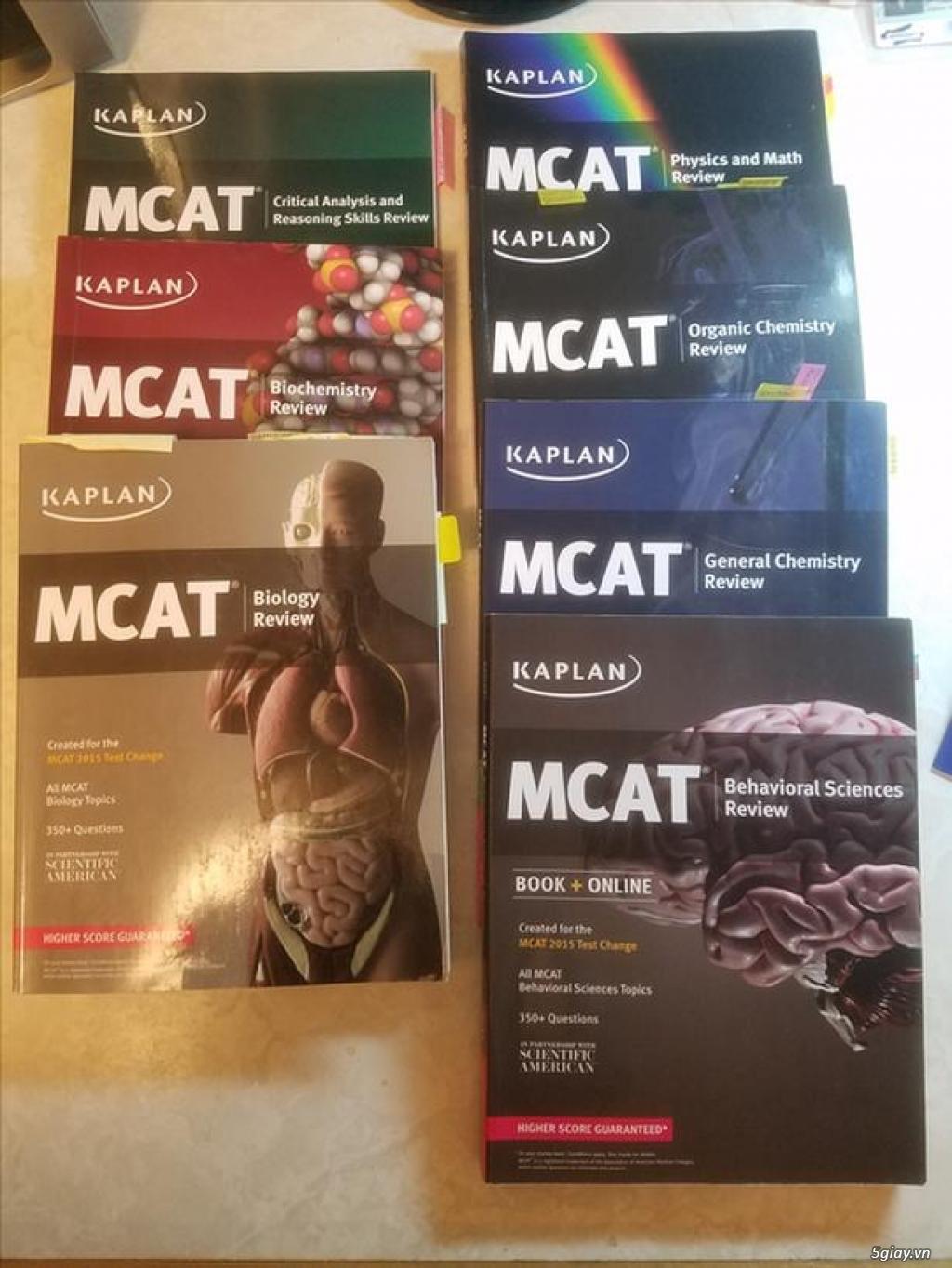 Sách MCAT full nguyên bộ 7 cuốn mới 99%