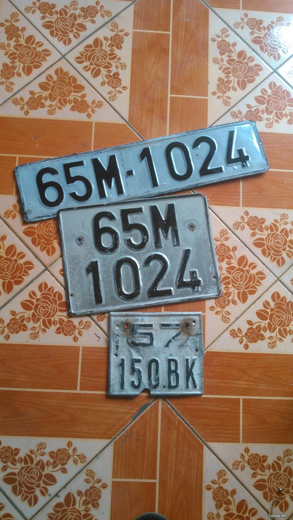 Gò ép biển số xe ôtô xe máy - 38