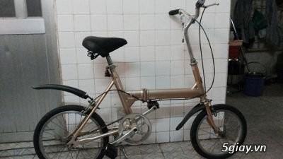 Xe đạp gấp Nhật hàng bãi