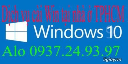 Dịch vụ cài đặt win cho vi tính & laptop tại nhà ở TP: HCM