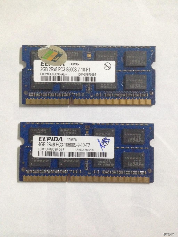 RAM laptop DDR3 2GB - 4GB