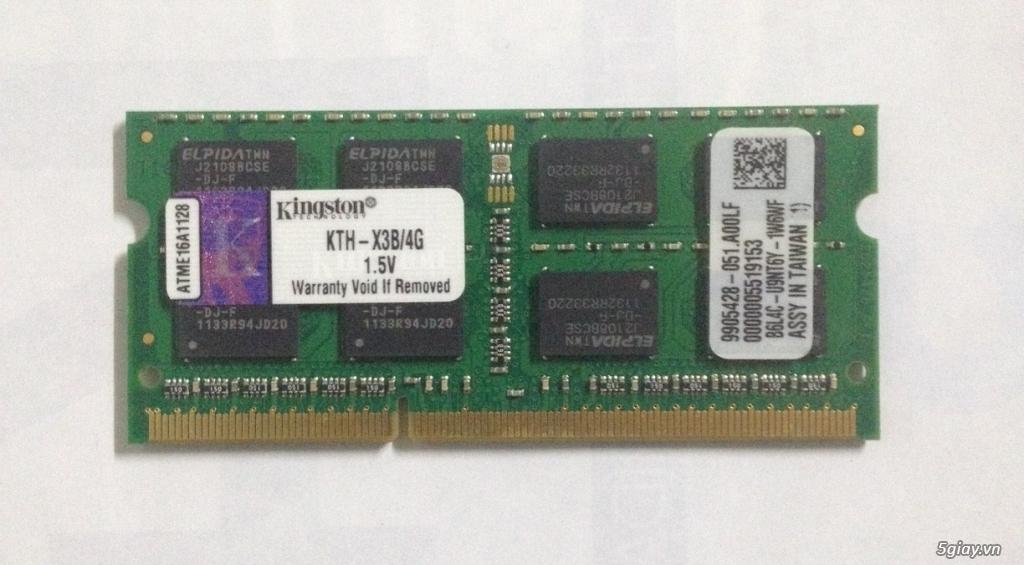 RAM laptop DDR3 2GB - 4GB - 1