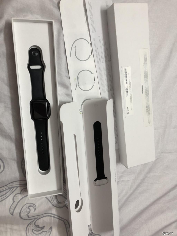 Cần bán lại đồng hồ apple watch series 1 38 mm màu đen - 1