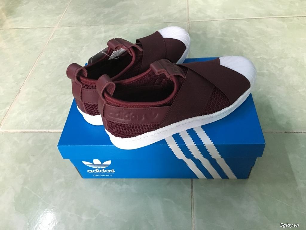Bán giày Adidas Superstar slip on W  giày nữ , size 37,hàng chính hãng