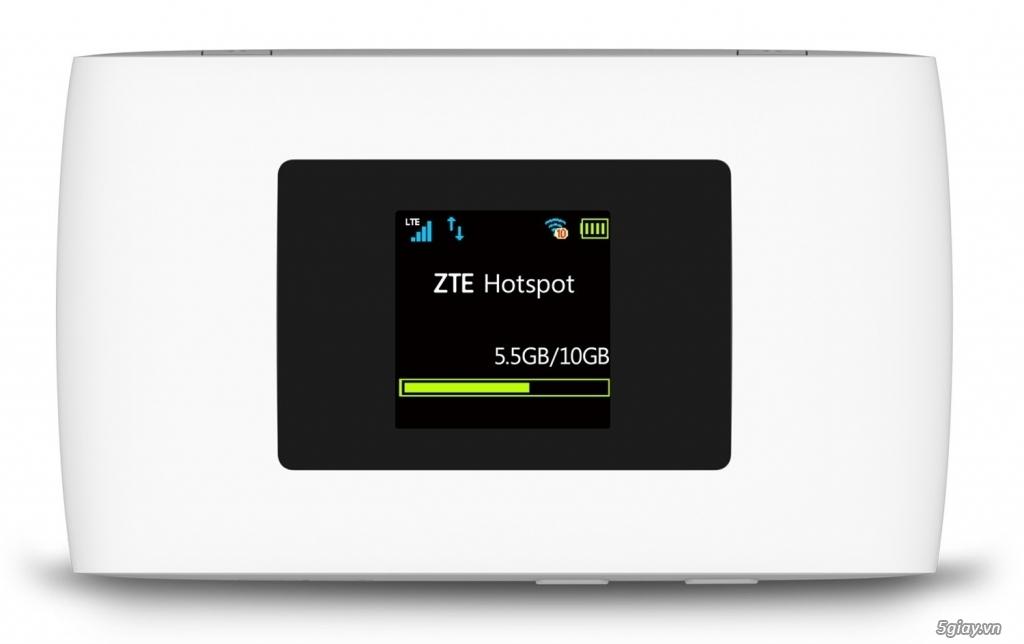 Bộ phát Wifi 3G/4G HUAWEI  ZTE MF920V, Tốc Độ 150Mbps - Thanh Lý