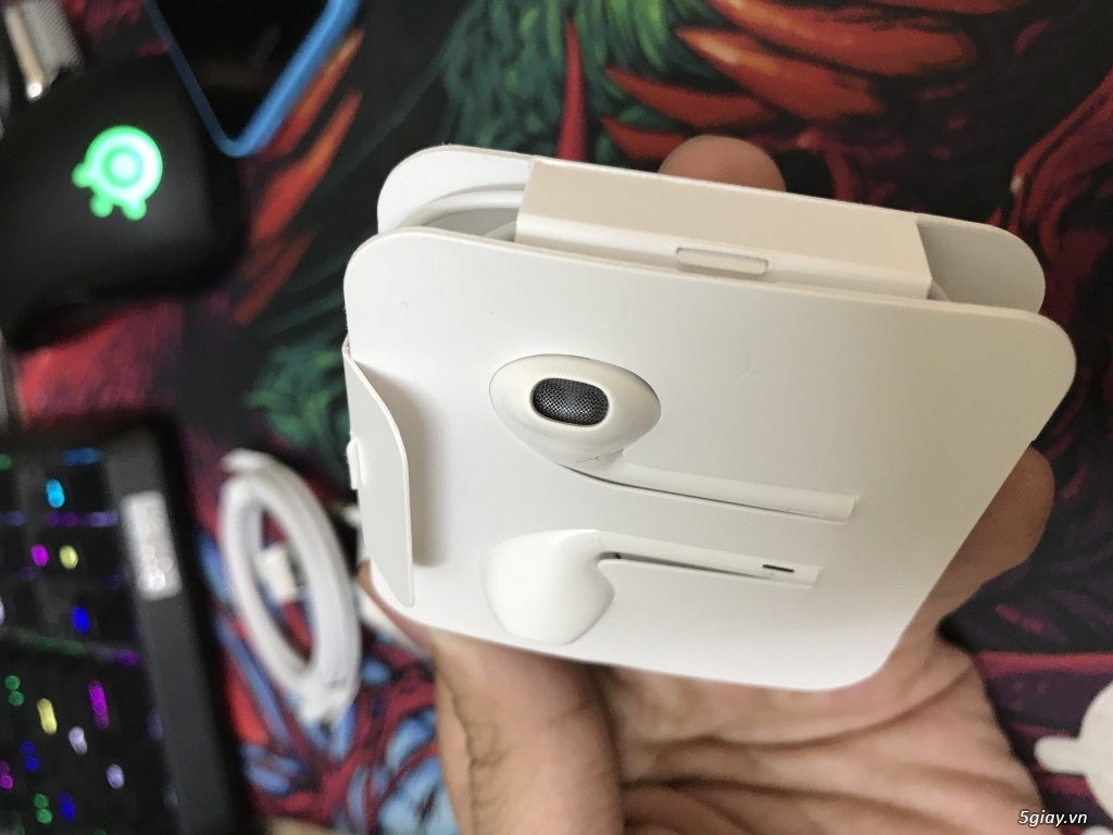 Q1- Phụ kiện sạc, cáp, tai nghe Apple Zin theo máy Iphone 7,8,X - 1