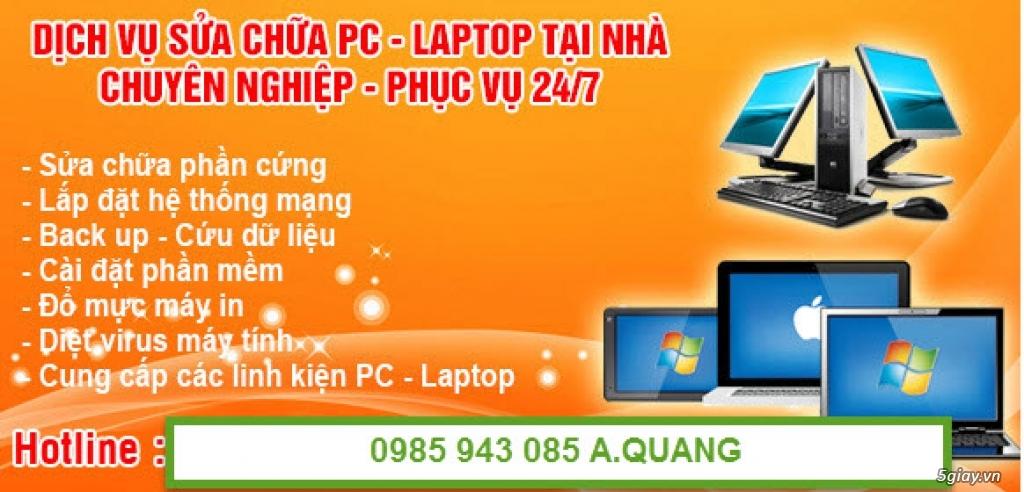 Thủ Đức - Sửa máy tính laptop tại nhà