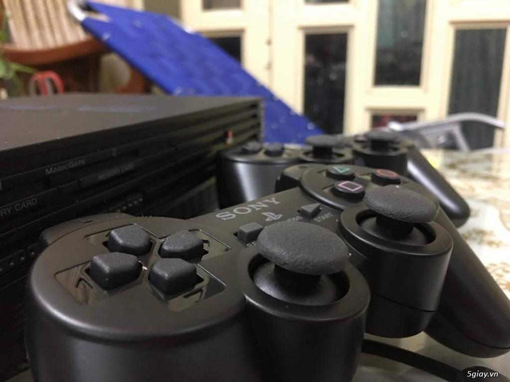 Máy game Sony Playstation 2 2 loại chơi đĩa và chơi bằng ổ cứng - 6