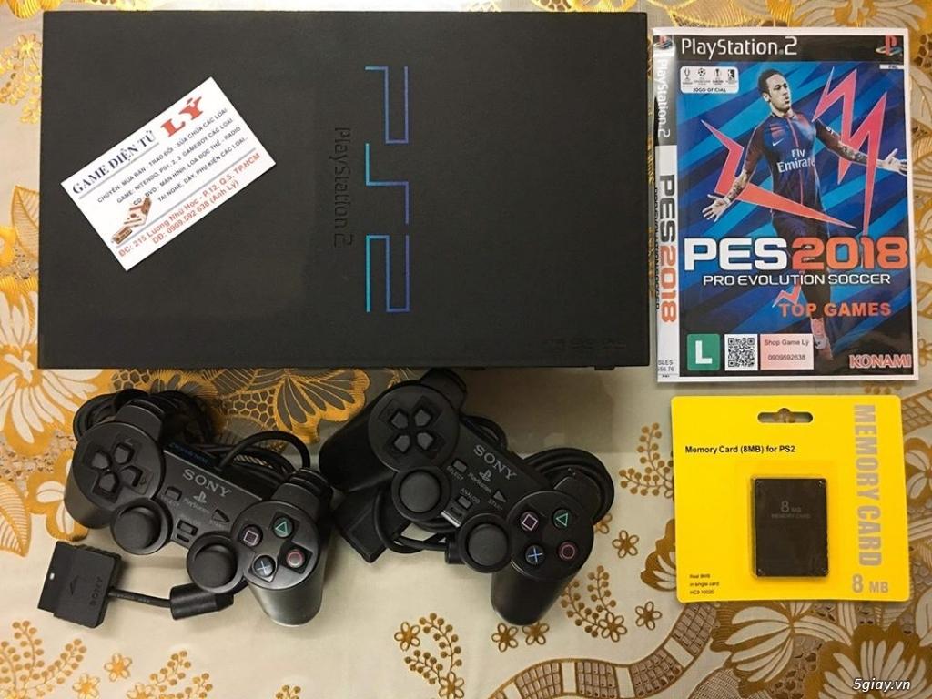 Máy game Sony Playstation 2 2 loại chơi đĩa và chơi bằng ổ cứng - 4