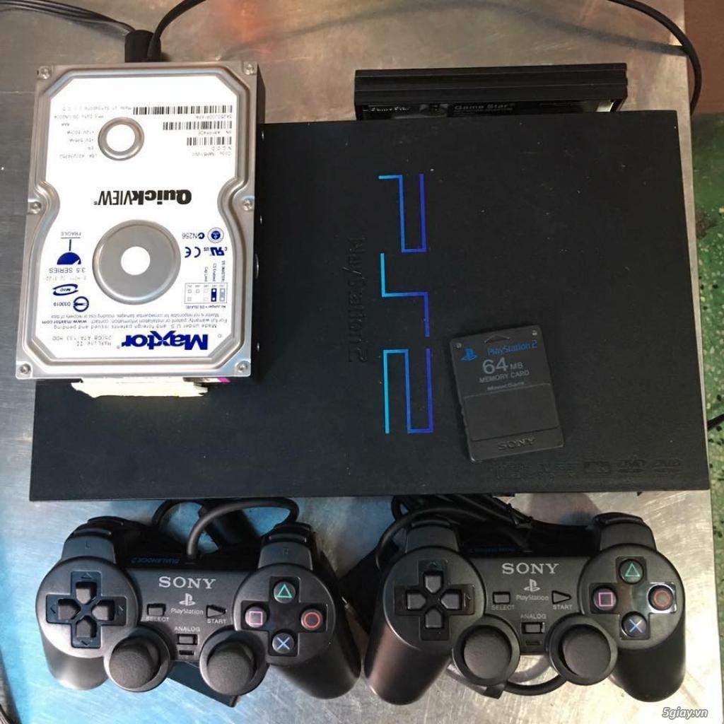 Máy game Sony Playstation 2 2 loại chơi đĩa và chơi bằng ổ cứng