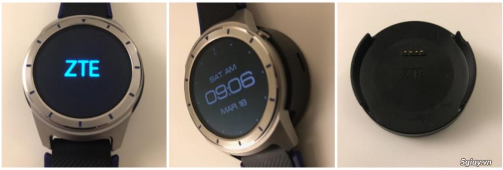 ZTE Quartz smartwatch cực pro dành cho anh em đam mê - 2