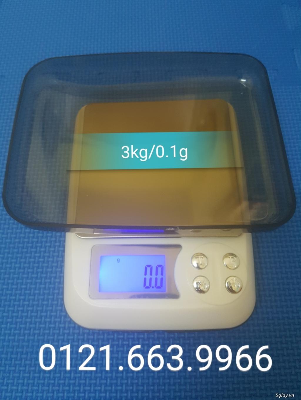 Cân điện tử tiểu ly,nhà bếp,thí nghiệm tổng hợp từ 500g/0,01g->10kg/1g - 9