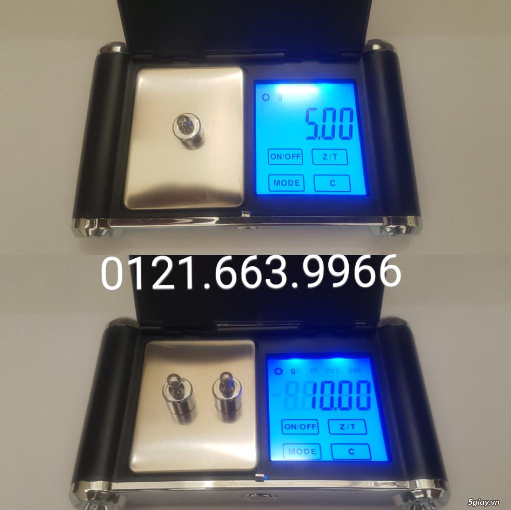 Cân điện tử tiểu ly,bỏ túi,mini tổng hợp từ 100g/0,01g->500g/0,01g - 2