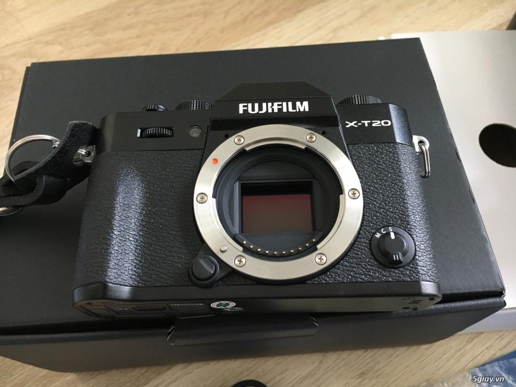 Fujifilm X-T20 mới 99% likenew - 2