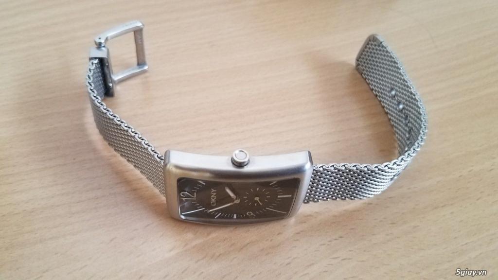 Đồng hồ chính hãng của Mỹ dư xài máy pin Quazt , máy tự động Automatic - 3
