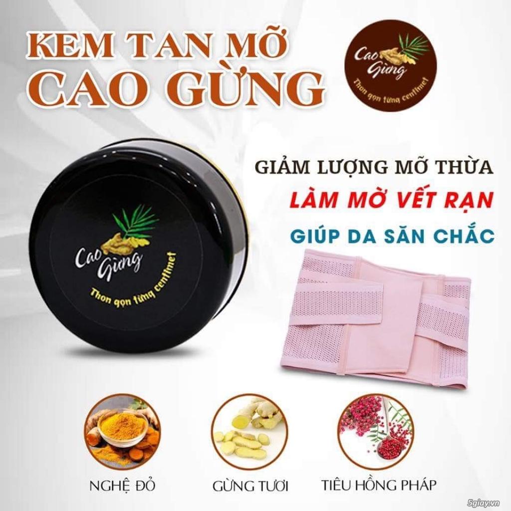 Đại Lý Mai Hương-Cao Gừng-Chuyên pp Kem Tan mỡ-hàng công ty-Giá tốt