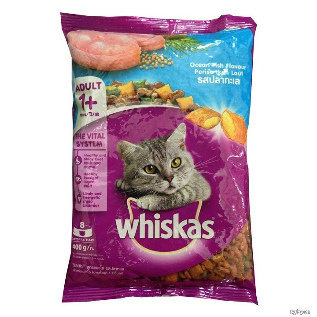 Hàng Nhập Khẩu - Thức Ăn Mèo Whiskas