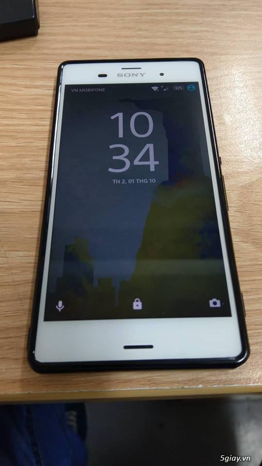 Sony Xperia Z3 đẹp như mới kèm phụ kiện chính hãng chưa dùng - 1