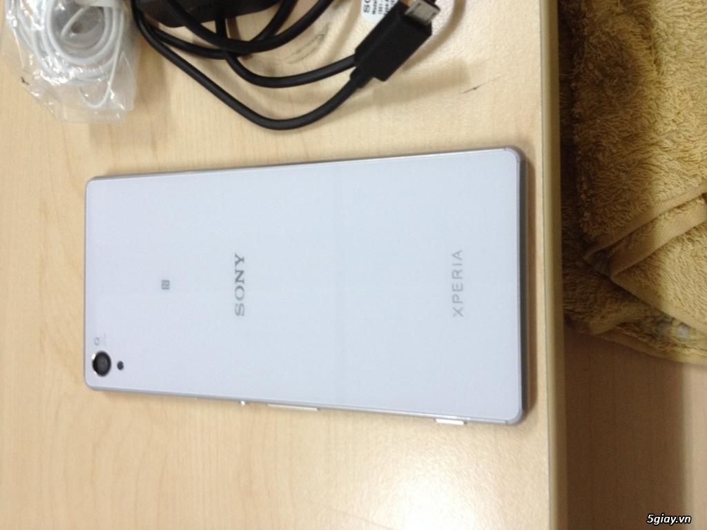 Sony Xperia Z3 đẹp như mới kèm phụ kiện chính hãng chưa dùng - 3
