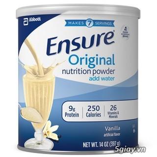 Thanh lý sữa ensure Original 230.000/hộp