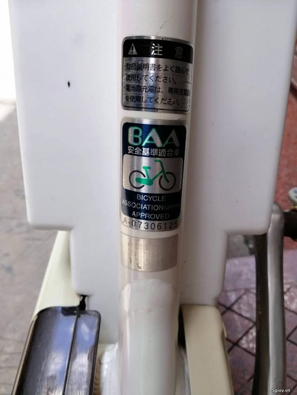 Thanh lý lô 3 xe đạp điện tay ga , trợ lực hàng Nhật giá rẻ ,pin zin - 10