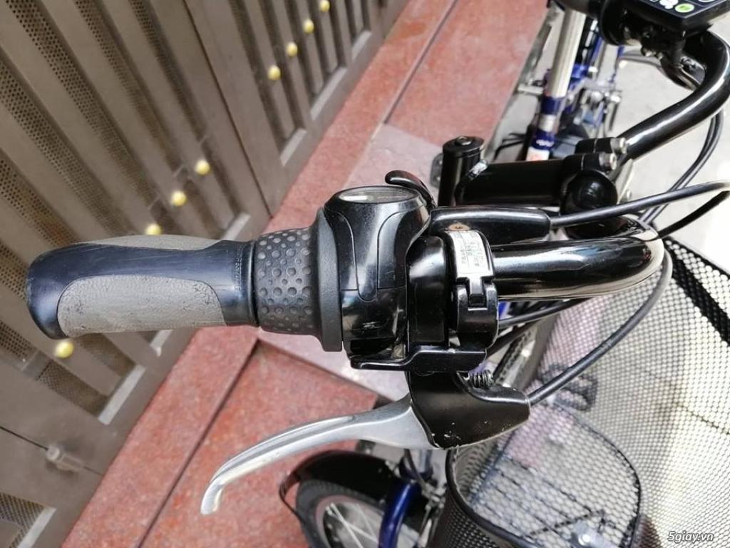 Thanh lý lô 3 xe đạp điện tay ga , trợ lực hàng Nhật giá rẻ ,pin zin - 16