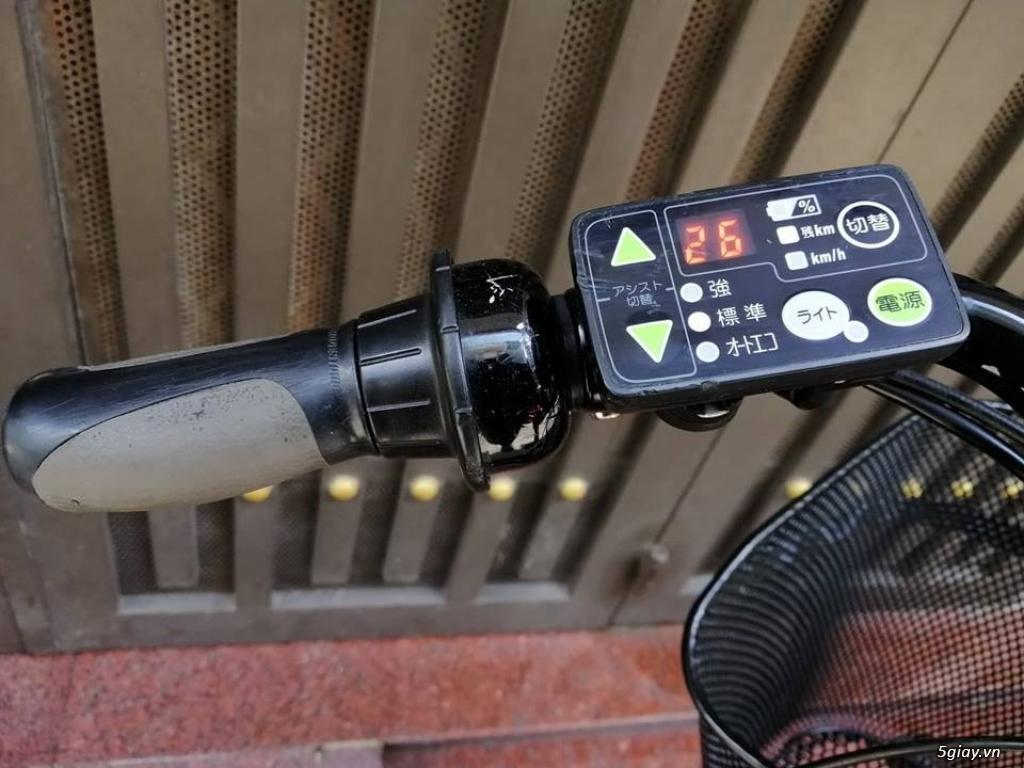 Thanh lý lô 3 xe đạp điện tay ga , trợ lực hàng Nhật giá rẻ ,pin zin - 27