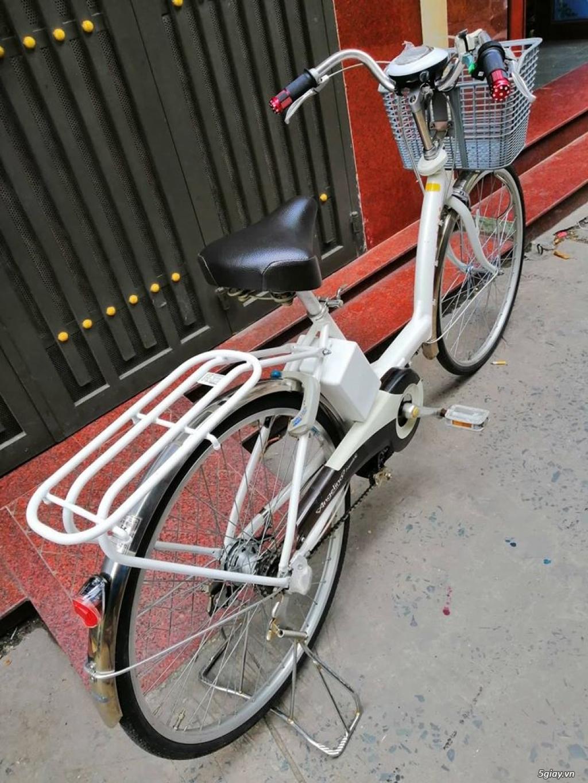 Thanh lý lô 3 xe đạp điện tay ga , trợ lực hàng Nhật giá rẻ ,pin zin - 12