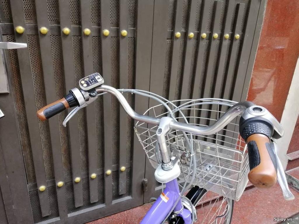 Thanh lý lô 3 xe đạp điện tay ga , trợ lực hàng Nhật giá rẻ ,pin zin - 1