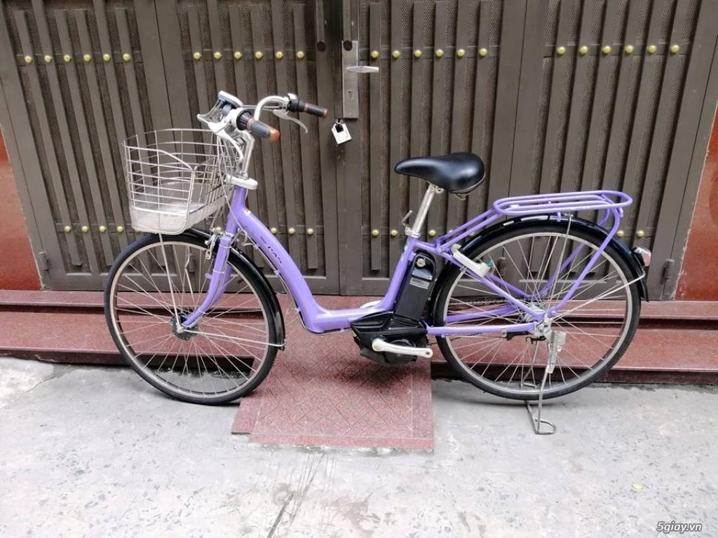 Thanh lý lô 3 xe đạp điện tay ga , trợ lực hàng Nhật giá rẻ ,pin zin