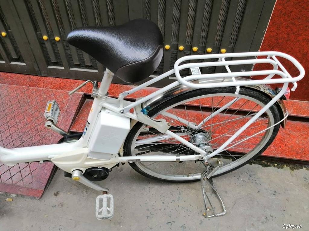 Thanh lý lô 3 xe đạp điện tay ga , trợ lực hàng Nhật giá rẻ ,pin zin - 11