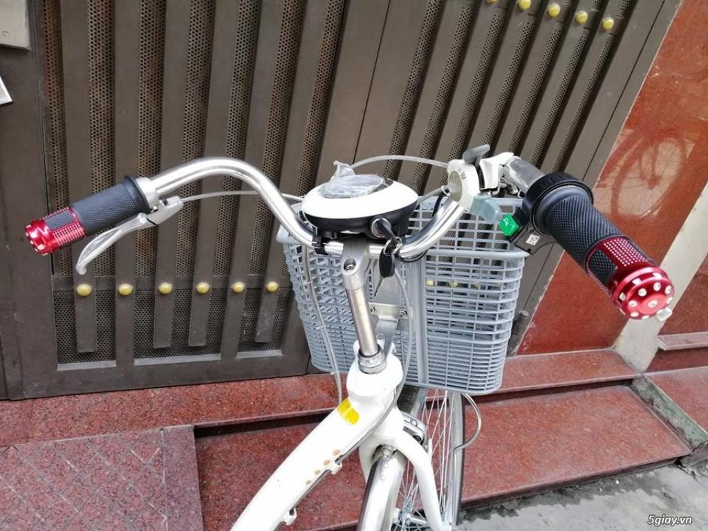 Thanh lý lô 3 xe đạp điện tay ga , trợ lực hàng Nhật giá rẻ ,pin zin - 9