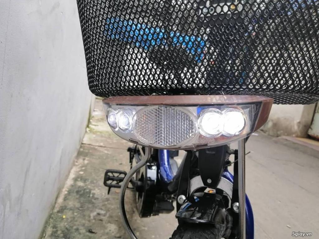 Thanh lý lô 3 xe đạp điện tay ga , trợ lực hàng Nhật giá rẻ ,pin zin - 17