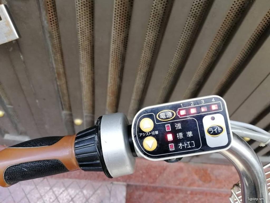 Thanh lý lô 3 xe đạp điện tay ga , trợ lực hàng Nhật giá rẻ ,pin zin - 5