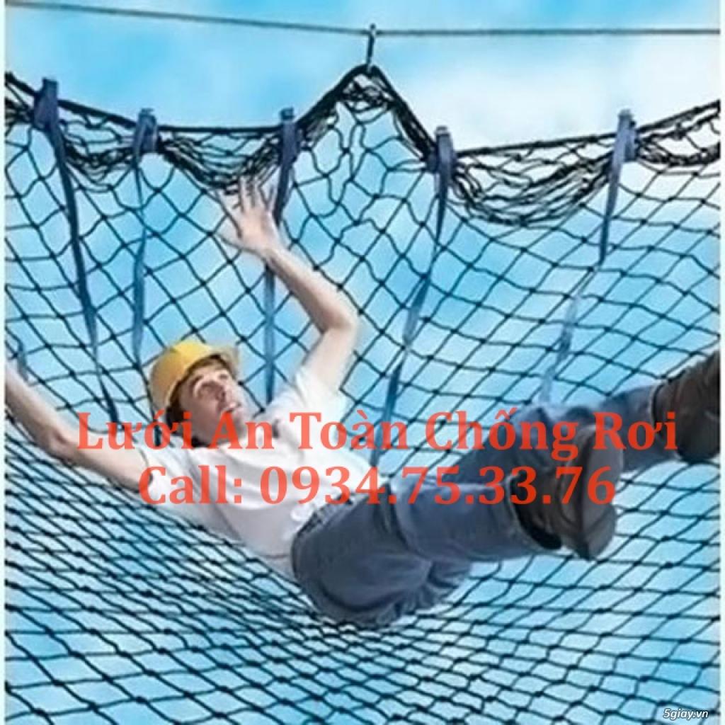 lưới an toàn, lưới chống rơi, lưới bao che công trình - 2