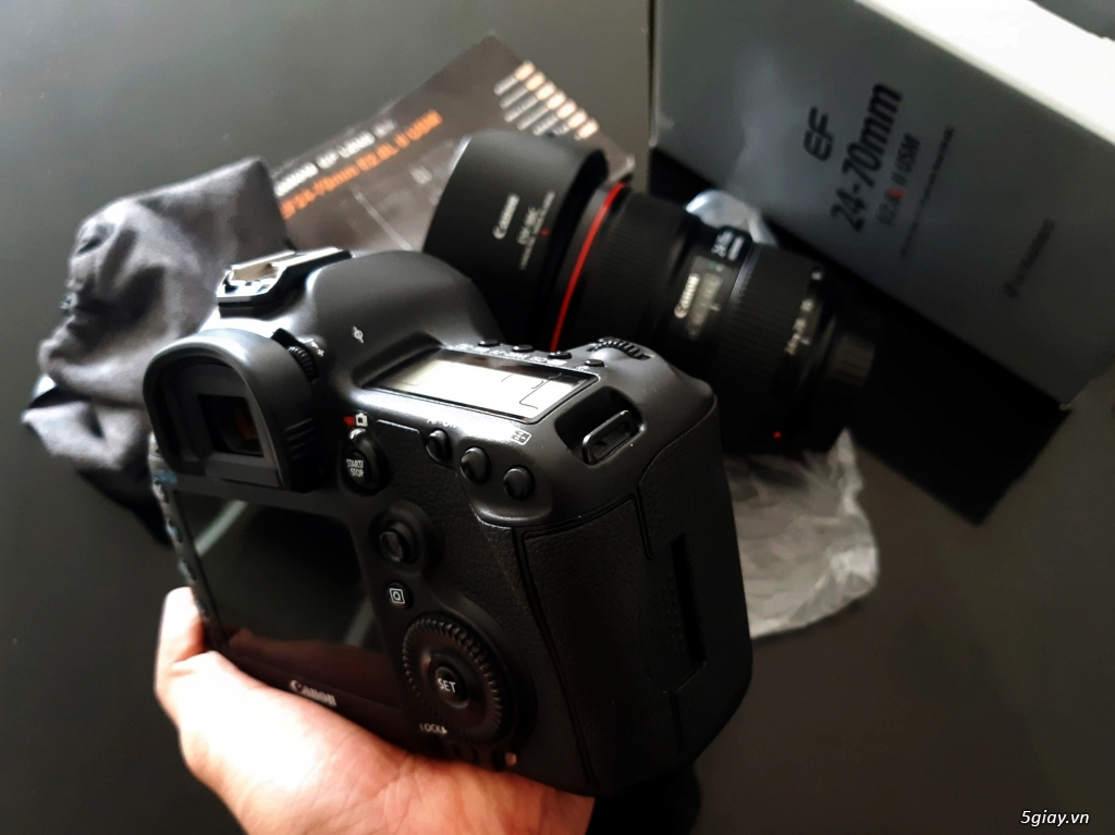 Bán Canon 5d mark lll máy đẹp giá siêu tốt. - 7