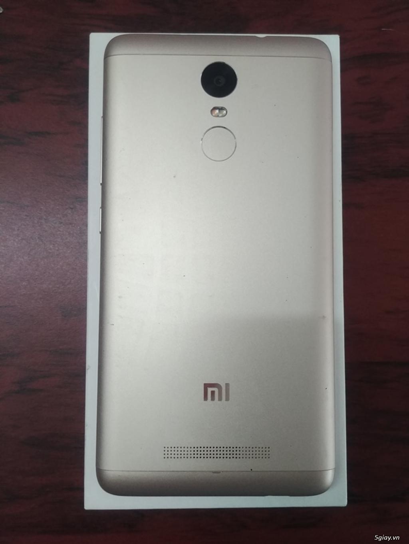 Cần bán Xiaomi Redmi Note 3 Pro Gold và Redmi Note 4 - 5