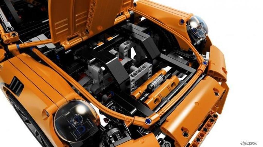 Đồ chơi xếp hình cho bé: Siêu xe Porsche 911 GT3 RS - 5