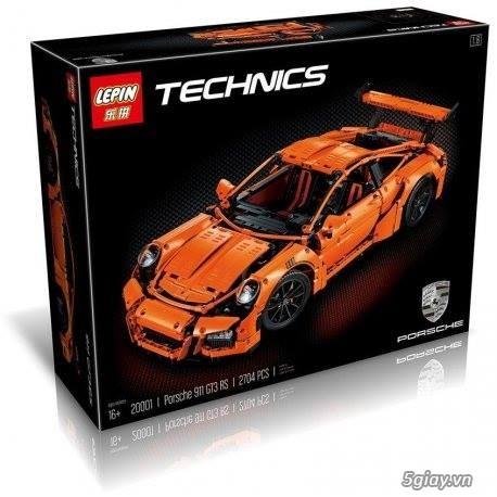 Đồ chơi xếp hình cho bé: Siêu xe Porsche 911 GT3 RS - 3