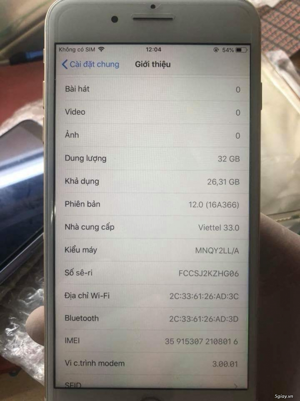 iphone 7 plus 32GB quốc tế LL/a - 4