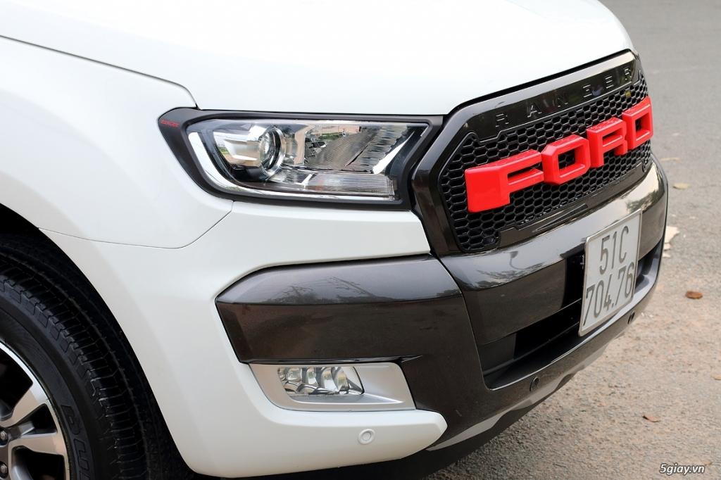 Cần Bán: Ford RANGER WildtraK 3.2 4x4 full 11/2015 như mới (Full hình) - 8