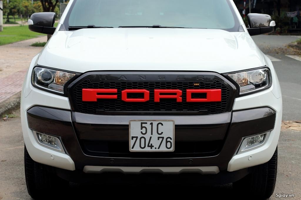 Cần Bán: Ford RANGER WildtraK 3.2 4x4 full 11/2015 như mới (Full hình)