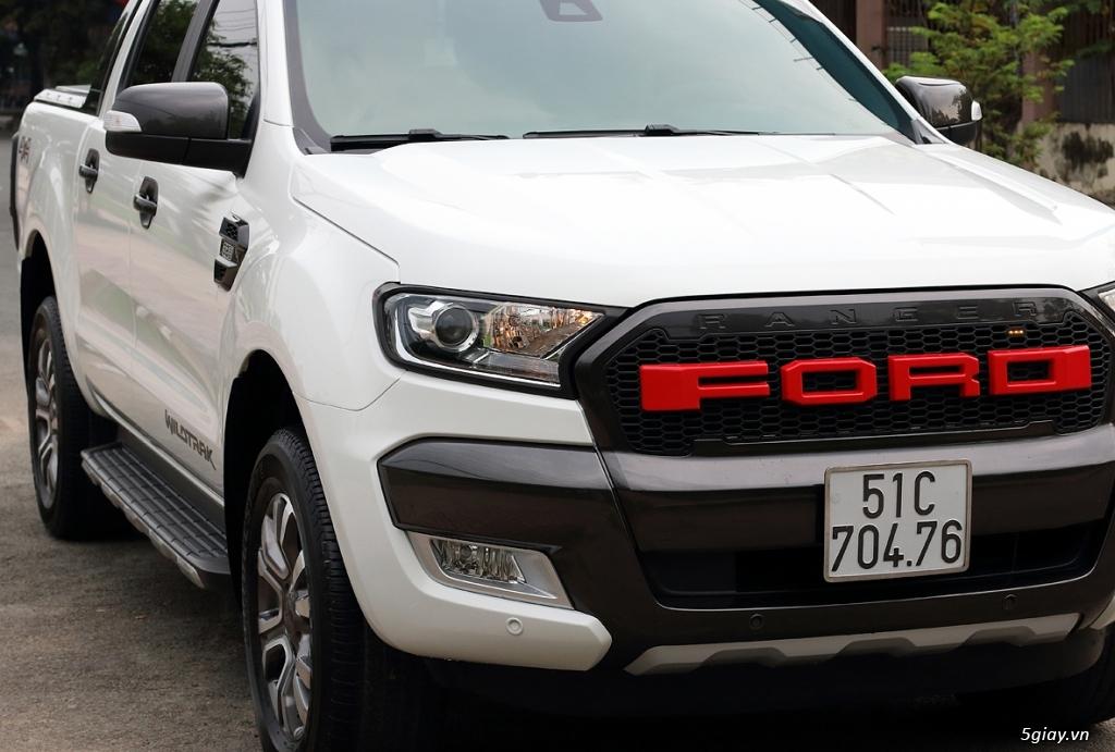 Cần Bán: Ford RANGER WildtraK 3.2 4x4 full 11/2015 như mới (Full hình) - 3