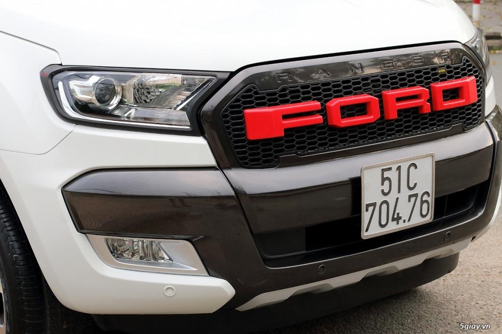 Cần Bán: Ford RANGER WildtraK 3.2 4x4 full 11/2015 như mới (Full hình) - 12