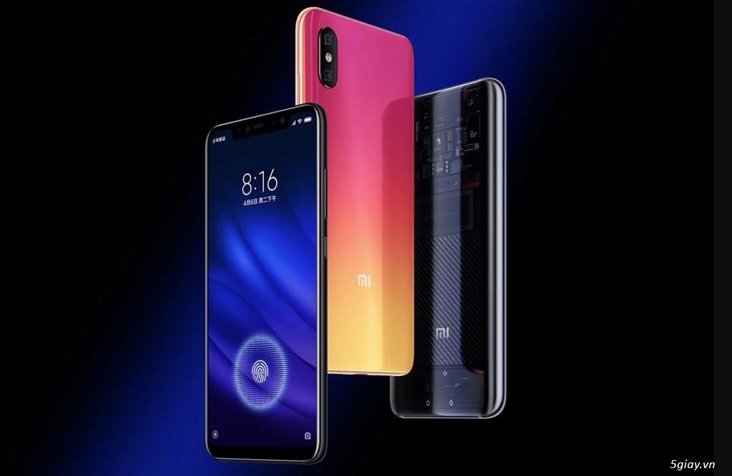 Chia sẻ các điểm giống và khác giữa Xiaomi Mi 8, Mi 8 SE, Mi 8 Pro - 1