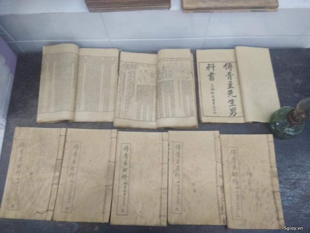 Bán vài quyển sách và tư liệu cổ - 1