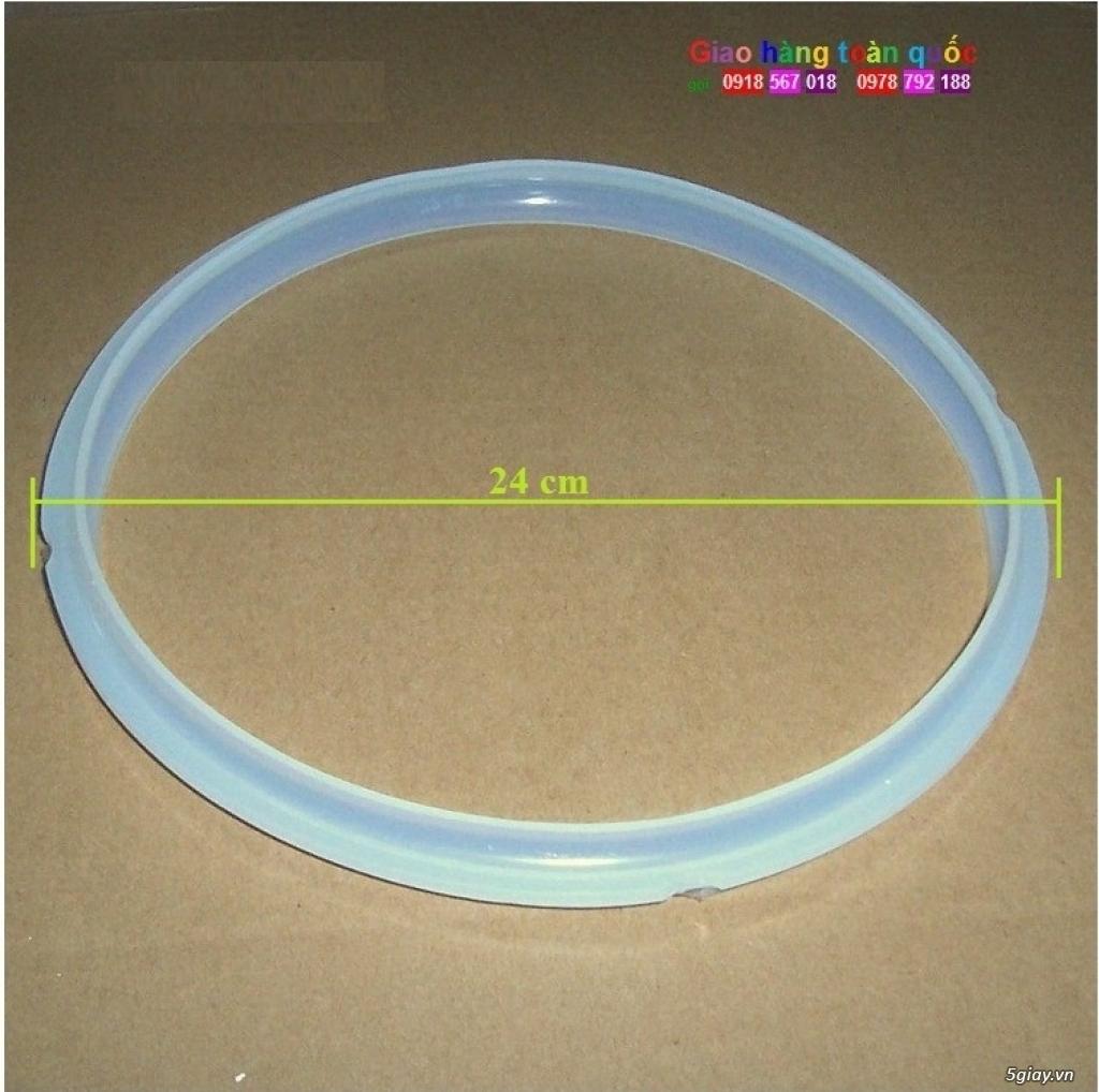 Gioăng cao su nồi áp suất điện 24cm 5-6L