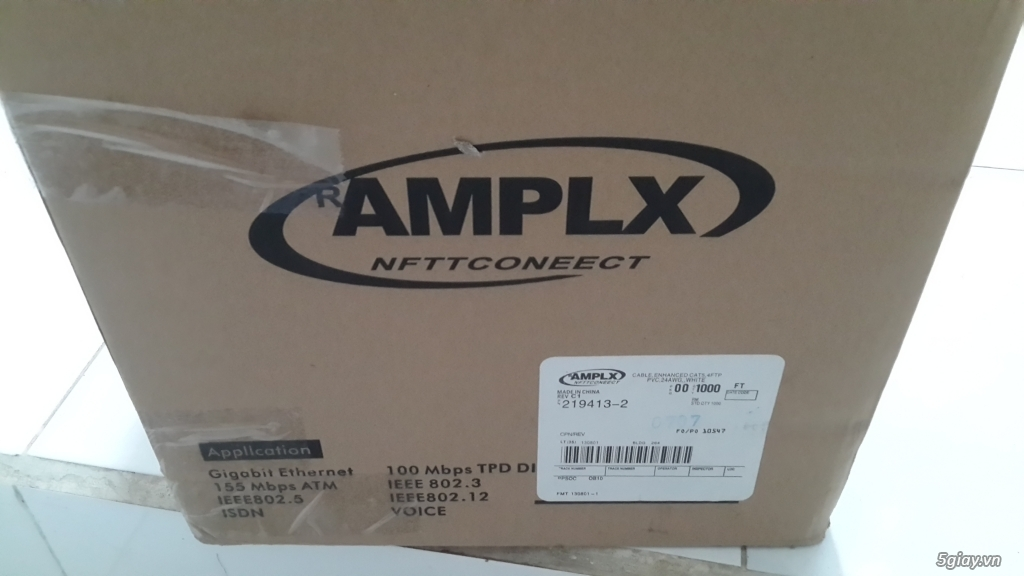 Router TP-Link C9 còn BH lâu. Cáp mạng AMP chính hãng thanh lý. - 2